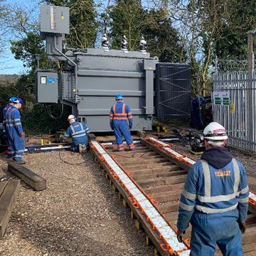 Knowl Hill Substation Transformer