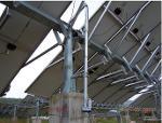 solar panel actuator