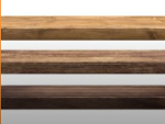 Les panneaux de bois massif