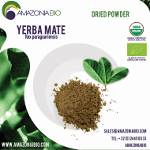 Organic Yerba Mate Dried Leaves Powder