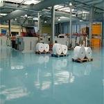 Revêtement de sol industriel antistatique
