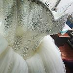 2017 wedding dress model