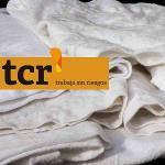 Trapo blanco camiseta 100% algodón