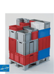 EURO standard containers and trays