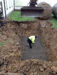 Citerne à mazout enterrée Mons