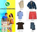Bekleidung Großhandel Angebot - Herren & Damen mode