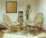 кресло-качалки из ротанга