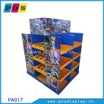 Full size corrugated pallet display stand