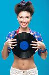 Embalagens de cartão de discos de vinilo