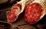 Prosciutto, Salame, Finocchiona, Pancetta