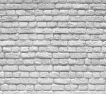 white brick panels