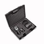 Leak detector incl. accessories in a practical case