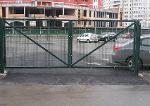 Ворота распашные панельного забора