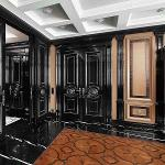 Элитные межкомнатные двери из массива дерева на заказ