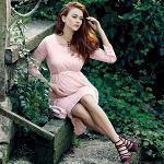Ebru Maternity Lace Dress
