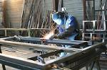 Small / medium light steel constructions forging and welding