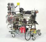 Combustion engines for power tests
