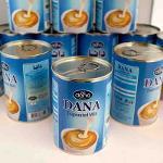 Evaporated Milk Full Cream Animal Fat Easy Open Can 410gr