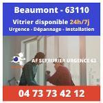 Vitrier sur Beaumont – 24h/24 et 7j/7