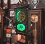Antique clock (build-in box)