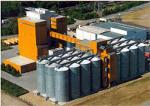 Storage silos for all bulk products - Height of 18,8 m.