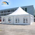 Tente de pagode personnalisée de 10 x 10 m à l'extérieur pou