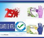 25% de Dcto. en guantes de nitrilo sin polvo softskin, touch