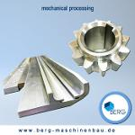 Mechanical processing