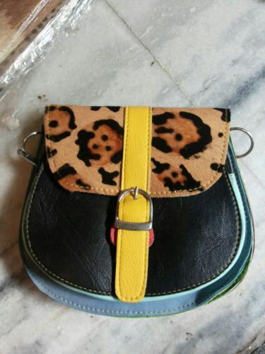 Fur Leather Ladies small bag