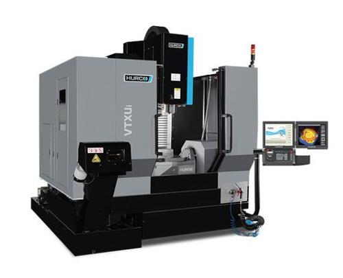 5-Axis-Machining-Center with trunnion table -VTX Ui WZW 48