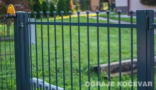 Welded profile fence
