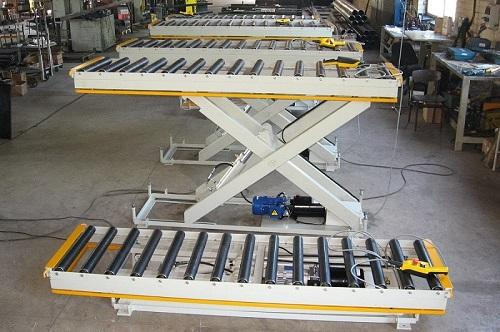Scissor hydraulic table