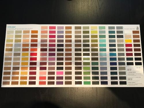 Cartella Colori / Colour Card