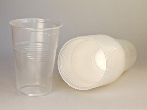 Пластиковый одноразовый стакан  200 мл,