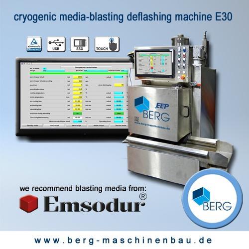 Installation d'ébavurage cryogénique E30