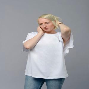 Split regular fit tshirt