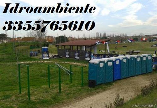 NOLEGGIO BAGNI CHIMICI Idroambiente |Roma...