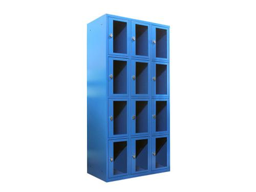 Multi-tier lockers
