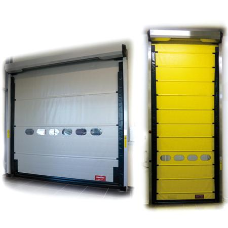 Maviroll High speed door for inside application