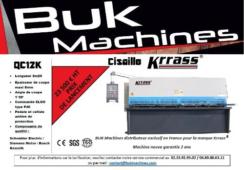 Cisaille KRRASS QC12K series