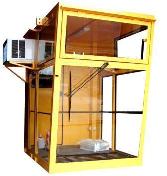 Operator crane cabin