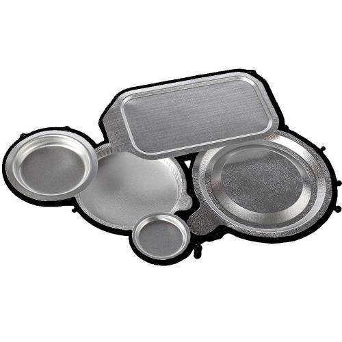 Aluminium-Siegelverschlüsse, verformt