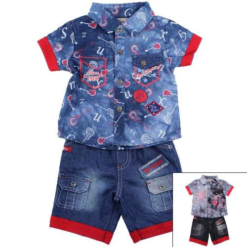 Wholesaler set of clothes baby licenced Lee Cooper