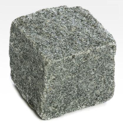 Adoquines de pavimentación de granito gris oscuro
