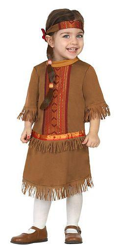 Costume Indienne 6-12 et 12-24 mois