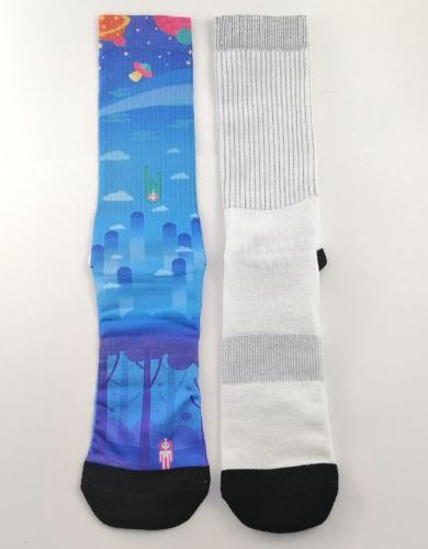 Digital Printed Sport Socks
