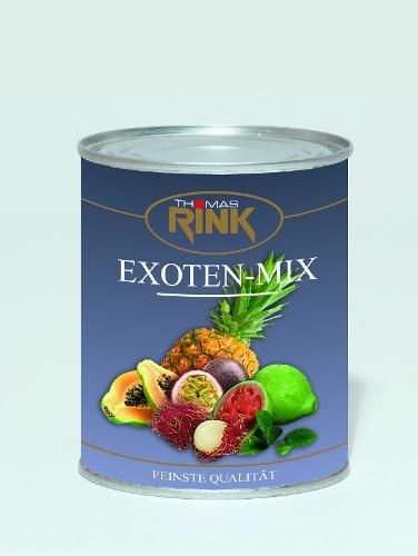 Exoten-Mix, 3,1 kg, leicht gezuckert