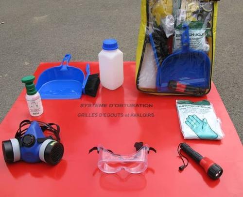 Kit ADR complet avec sacoche nylon V2