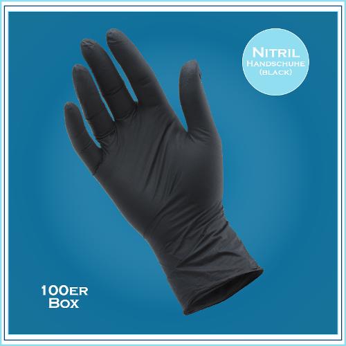 Med. Handschuhe, Nitril 35black