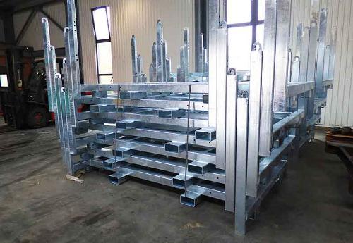 Massenproduktion von Stahldetails